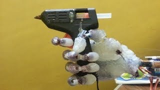 Step by step how to build a robotic hand with cheap material