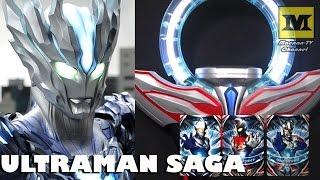 DX Orb Ring : Ultraman SAGA (Cosmos + Dyna + Zero)