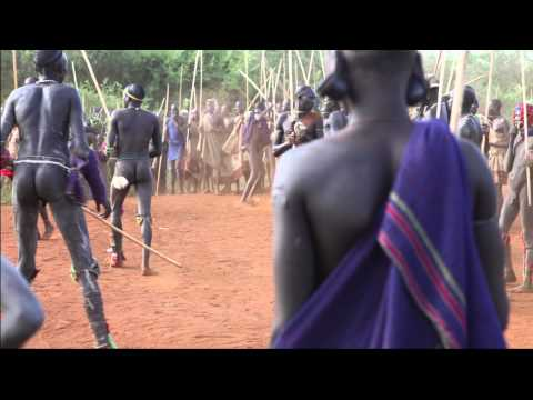 ETHIOPIA behind the scenes at a DONGA