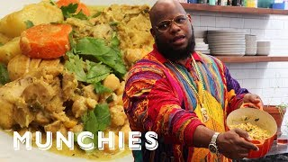 Meyhem Lauren Cooks Late Night Curry Chicken