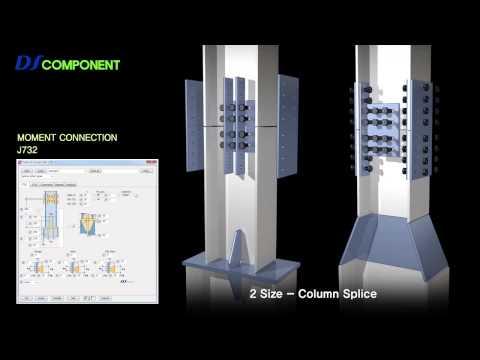 Tekla Structures Auto Connections DS Component English