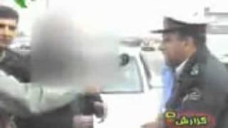 Funny Mashadi Iranian driver  Khandeh Dar :D