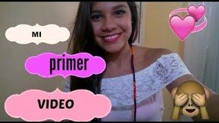 MI PRIMER VIDEO I HEIDY MONJE