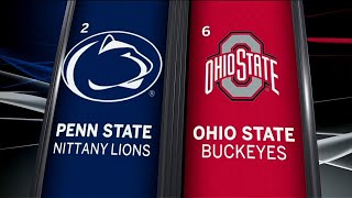 Penn State at Ohio State - Football Highlights