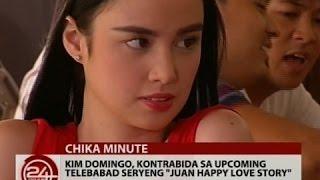 24 Oras: Kim Domingo, todo handa na sa sexy scenes niya sa