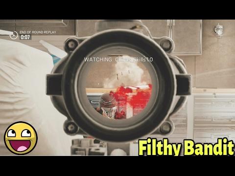 Rainbow Six Siege : Bandit is Filthy (MLG Plays?!)