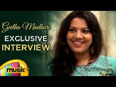 Geetha Madhuri Exclusive Interview | Singer Geetha Madhuri | Celebrities Exclusive Interviews