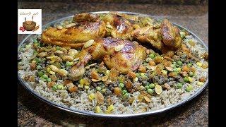 ابهري عائلتك وضيوفك بوصفة اوزي الدجاج الشهي/وصفات رمضان 2018