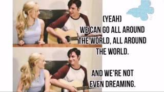 Lyrics Written in the stars,Dove and Ryan