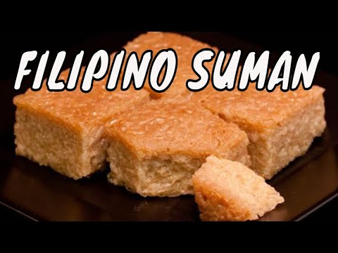 How to make Filipino suman recipe