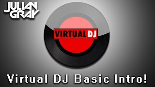 Virtual Dj Mixing, Beat Matching and Basic Introduction