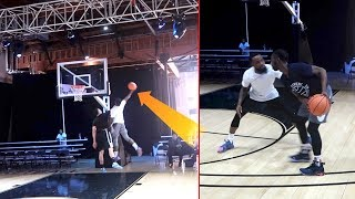 KING OF THE COURT vs. FamousLos32! FILAYYYY And BallIsLife! Intense Basketball Game!