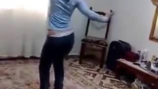 arab teen girl dance