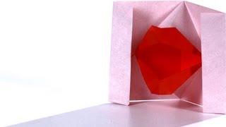 How to Make Lips   Origami