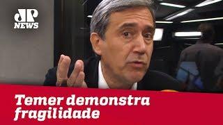 Michel Temer demonstra fragilidade em pronunciamento | Marco Antonio Villa