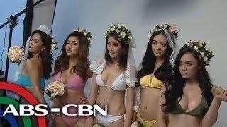 TV Patrol: 'Abay Babes' stars sizzling hot sa kanila photo shoot