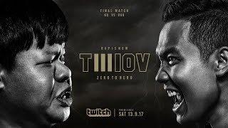 TWIOV3 : EP.16 KQ vs OAK ( FINAL ) | RAP IS NOW