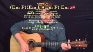 Dessert (Dawin) Guitar Lesson Chord Chart - Standard Tuning