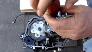 TaoTao 125cc clutch install