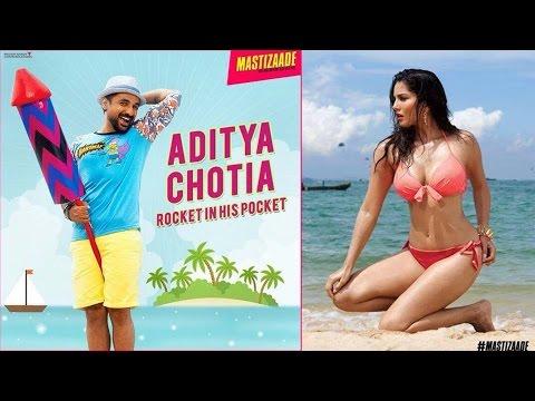 Mastizaade Poster 2 | Vir Das Turns CHOTIA For Sunny Leone's Sex Comedy!
