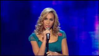Leona Lewis ~ Sorry Seems To Be The Hardest Word ~ 11.11.2006 (Week 5) The 2006 XFactor