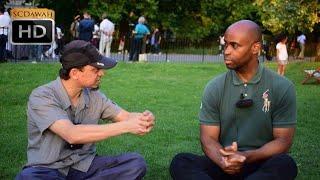 P1 - Sincere Sitdown! Mansur & Sincere Visitor   Speakers Corner   Hyde Park