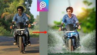 picsart editing tutorial bike change / cb editing /picsart background change /hindi/picsart editing