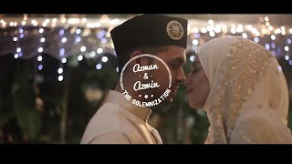 Indian Muslim Wedding | Dr. Azman & Azwin | Mehndi Night & Solemnization