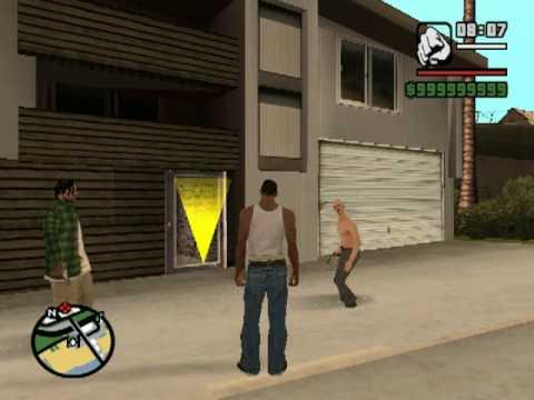 Buscando al Ladrón de autos con el Tio Gilipollas GTA San Andreas Loquendo