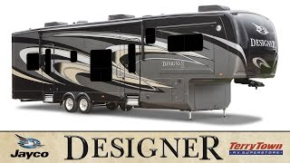 Jayco Designer 39FL 39RE 37RS 37FB Luxury 5th Wheel Review/Tour: TerryTown RV Superstore