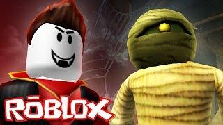 Roblox Halloween / Vampire Hunters 2 / Mummy vs Vampire!