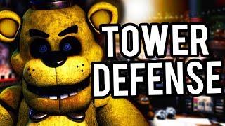 HORDES OF TERRIFYING ANIMATRONICS ATTACK..   FNAF Tower Defense