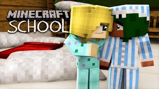 Minecraft School - LITTLE LIZARD KISSES HIS CRUSH FOR THE FIRST TIME!