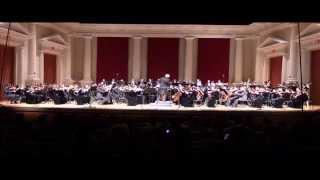 Walton High School Symphony Orchestra performs Egmont Overture.