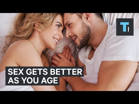 Sex can get even better as you age