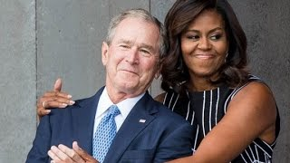 George W. Bush and Michelle Obama: An unlikely friendship
