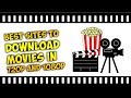 Best sites to dowload movies in 720p/1080p with Direct Links