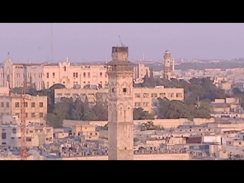 Ancient city of Aleppo Before and after