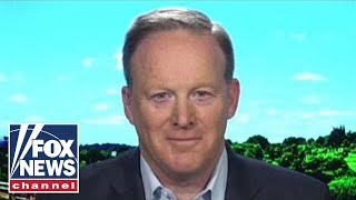 Sean Spicer reacts to order to reinstate Acosta