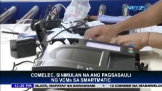 Comelec starts process of VCM return to Smartmatic