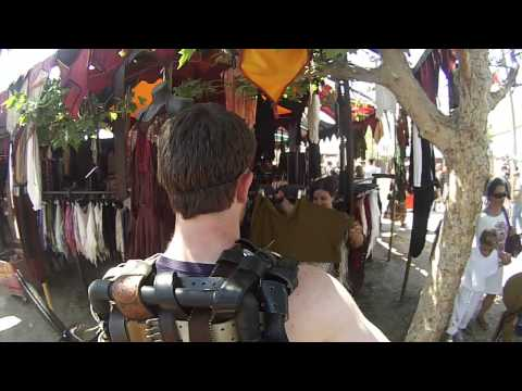 Ren Faire 3rd Person Perspective GoPro