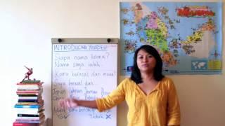 [Learn Malay] #2: Introducing yourself