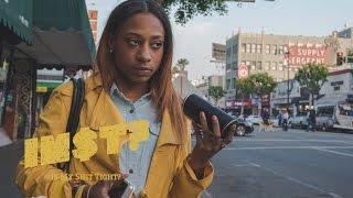 Childish Gambino - Redbone: STREET REACTIONS in Hollywood