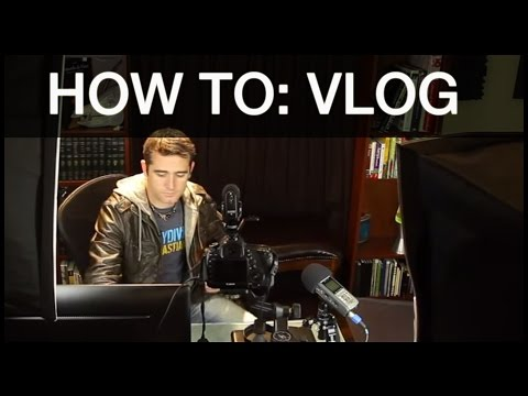 How to make a VLOG - A FULL TUTORIAL on Producing, Editing, and Shooting