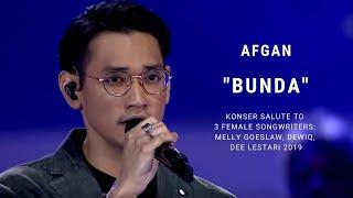 Afgan - Bunda (Konser Salute Erwin Gutawa to 3 Female Songwriters)