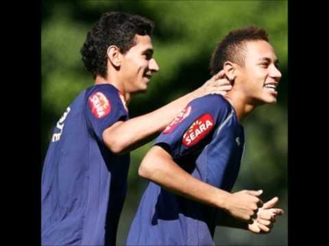 Neymar e Ganso a amizade é tudo