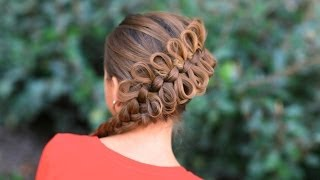 How to Create a Diagonal Bow Braid