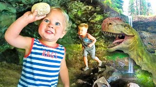 FINDING  REAL SURPRISE DINOSAUR EGGS! - Cave Exploration and Dino Dig!
