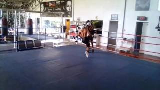 Jasper Cayno vs Raul You Sparring ALA Boxing Gym Part 1