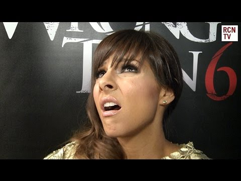 Xxx Mp4 Roxanne Pallett Interview Funny Sex Scene Wrong Turn 6 Premiere 3gp Sex